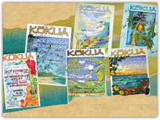 Kokua Festival Poster Collection - autographed by Kokua Festival Musicians